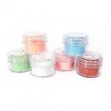 Glitter- pastelkleuren