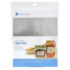 Stikker vellen printbaar Silver Foil