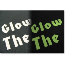 Glow in the dark flexfolie (heattransfer)